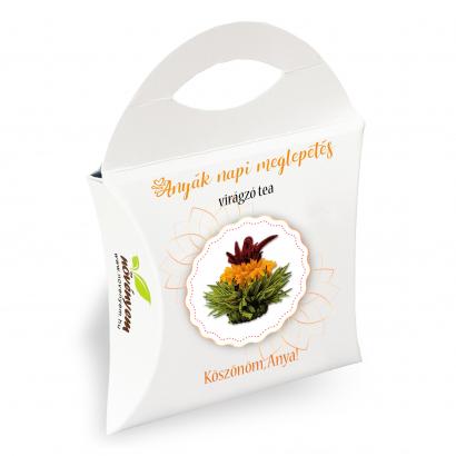 Anyák napi virágzó tea