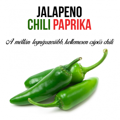 Jalapeno chili paprika növényem fa kaspóban