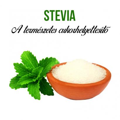 Stevia növényem fa kaspóban