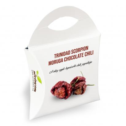 Trinidad Scorpion Moruga chocolate chili magok díszdobozban